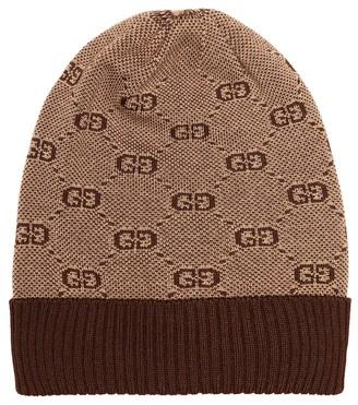 Gucci Kids GG wool beanie