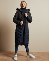 Ted Baker HYLEA Chevron quilted padded jacket