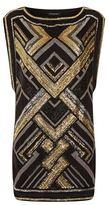 Balmain Sequin Tunic Dress
