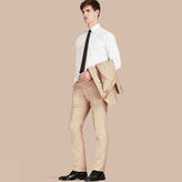 Burberry Modern Fit Linen Trousers