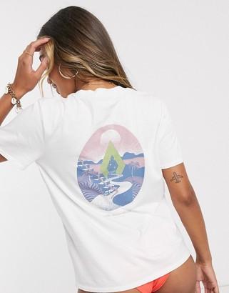Volcom Uverza t shirt in white