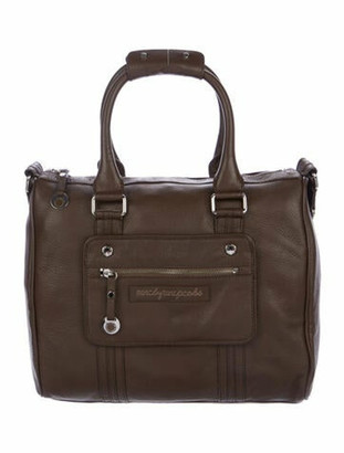 Marc by Marc Jacobs Grained Leather Shoulder Bag Brown
