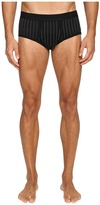 Dolce & Gabbana Lisle Yarn Scottish Fibres Pinstripes Brando Brief Men's Underwear