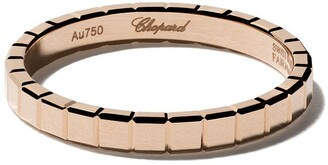 Chopard 18kt rose gold Ice Cube Pure ring