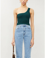 KENDALL + KYLIE Pacsun PacSun x Kendall & Kylie one-shoulder stretch-knit top