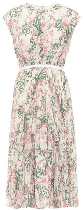 Giambattista Valli Floral silk midi dress