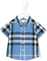 Burberry Fred shirt - kids - Cotton - 9 mth