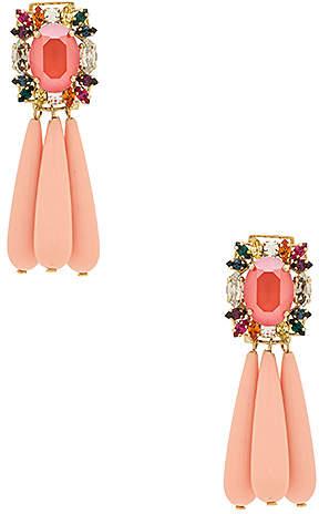 Anton Heunis Crystal Cluster Earrings