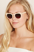 Forever 21 FOREVER 21+ Ombre Cat Eye Sunglasses