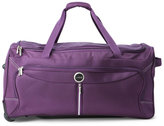 "lucas 29"" Purple Tech Wheeled Duffel"