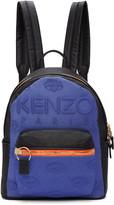 Kenzo Blue and Black Kombo Backpack