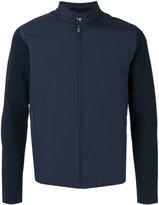 Z Zegna contrast sleeve jacket - men - Cotton/Polyamide/Polyester - XL