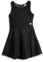 GUESS Little Girl Fuzzy Skater Dress (2-6x)