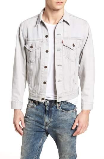 Levi's Authorized Vintage Denim Trucker Jacket