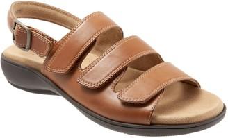 Trotters Adjustable Walking Sandals - Vine
