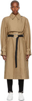 Thumbnail for your product : VVB Beige Oversized Trench Coat