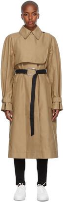 VVB Beige Oversized Trench Coat