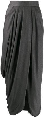 Isabel Marant draped front skirt
