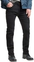 Mott and Grand Mott & Grand Stitch Line Detail Jeans - Slim Fit (For Men)