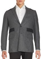 Givenchy Patched Wool Sportcoat