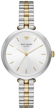 Kate Spade Women's Holland Two-Tone Stainless Steel Bracelet Watch 34mm KSW1119