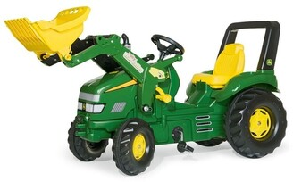 John Deere X-Trac Ride-On Tractor Toy with Loader No