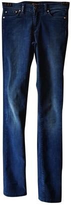 Kiton Blue Velvet Trousers