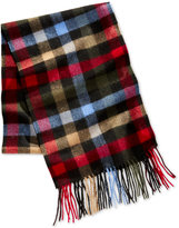 Club Room Men's Plaid Cashmere Scarf, Only at Macy's