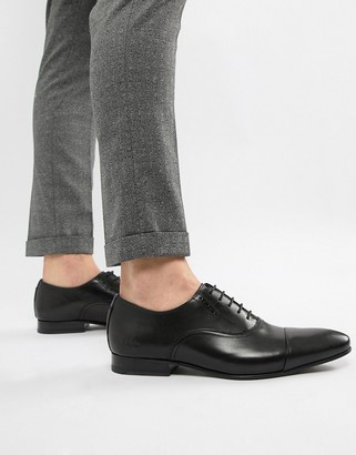 Ted Baker Murain oxford shoes in black leather