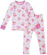 Cuddl Duds Toddler Girl Peppa Pig Top & Leggings Set