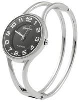 Geneva Platinum Women's Bangle Watch