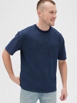 Gap 1969 Premium Indigo Easy Pocket T-Shirt