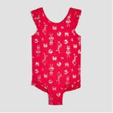 Joe Fresh Toddler Girls' Ruffled One Piece Swimsuit