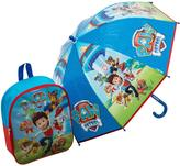 Paw Patrol Backpack & Umbrella Set