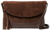 Frye Paige Small Suede & Leather Crossbody