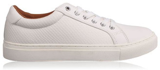 Fabric Aruna Lace Up Trainers Ladies