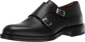 Aquatalia Men's Gavin Dress Calf Monk-Strap Loafer