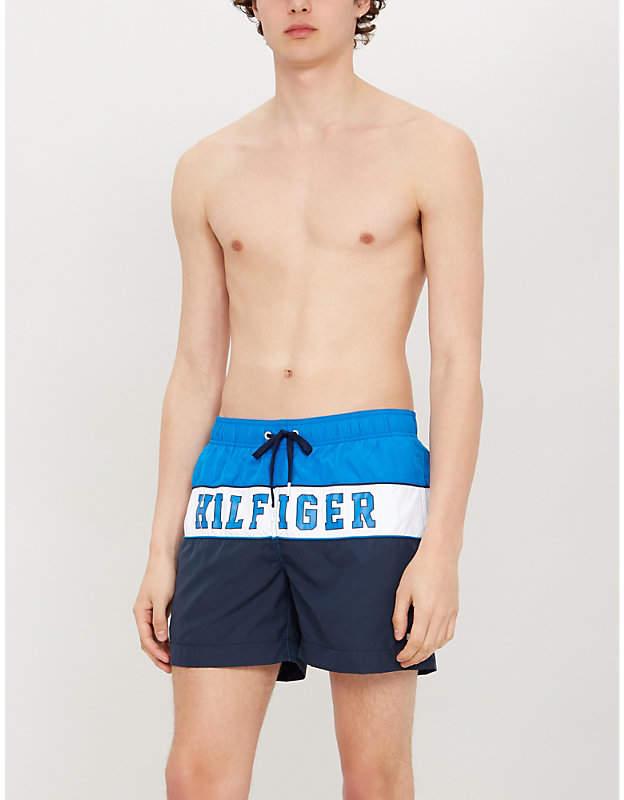 af89964ef7984 Tommy Hilfiger Blue Men's Swimsuits - ShopStyle