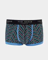 RASBORA Printed cotton boxer shorts