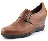 Sanita Maralyn Round Toe Leather Clogs.