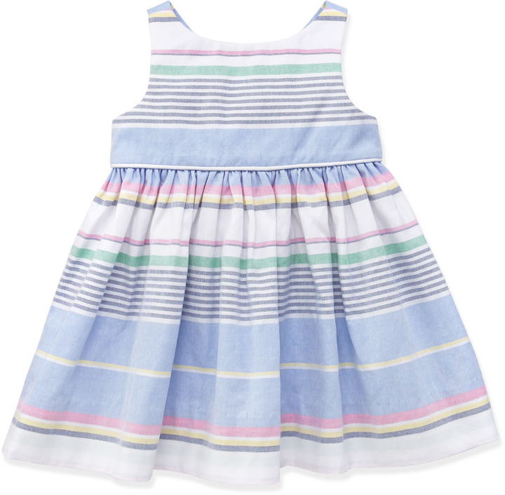 Ralph Lauren Little Run On Oxford Dress, 3-12 Months