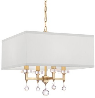 Shade Chandelier With Crystal Shop The World S Largest Collection Of Fashion Shopstyle