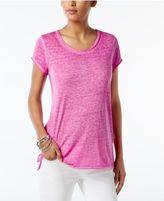 INC International Concepts Petite Burnout T-Shirt, Only at Macy's