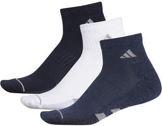 adidas Men 3-Pk. Cushioned Quarter Socks