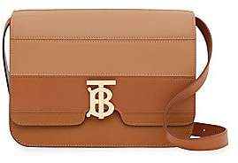 Burberry Women's Medium TB Leather Crossbody Bag