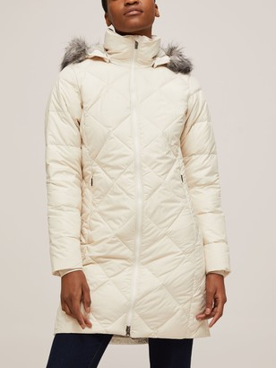 Columbia Icy Heights II Mid Length Women's Insulated Jacket, Chalk