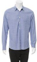 Paul Smith Checkered Print Button-Up Shirt