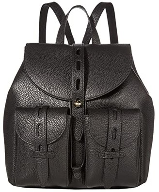 Furla Net Small Backpack (Nero) Backpack Bags