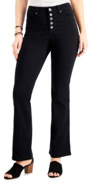 Style&Co. Style & Co Button-Fly Bootcut Jeans, Created for Macy's