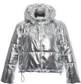 MSGM Lunar Metallic Puffer Coat